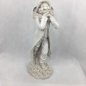 Hand Painted Rabbit Statue